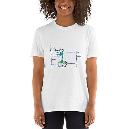 Imagine Tiny Living with Attributes Short-Sleeve White T-Shirt