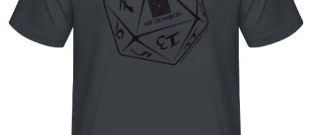 T-Shirt Dice Deep Grey