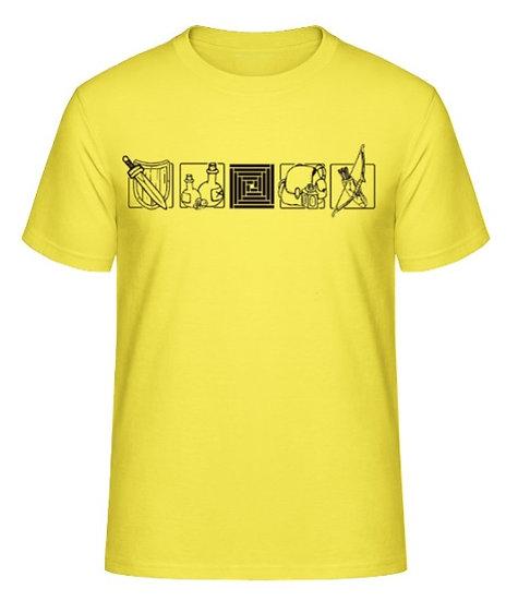 T-Shirt Dungeon´s Tools - Yellow