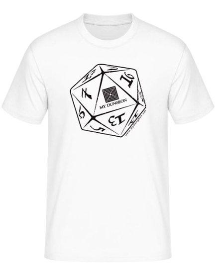 T-Shirt Dice White