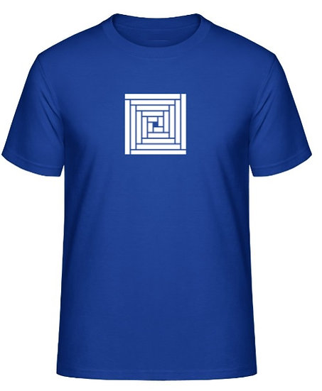 T-Shirt Logo - Four square Blue