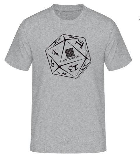 T-Shirt Dice Grey