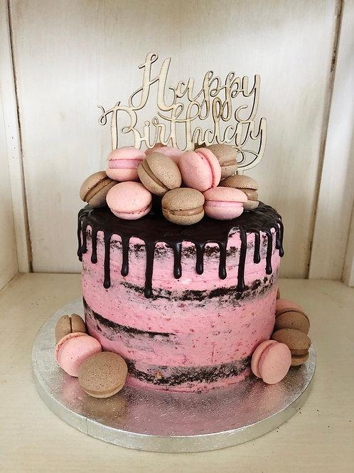 Macarons Naked Cake - Preis auf Anfrage