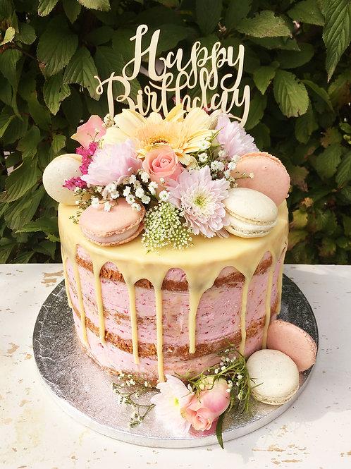 Flower Naked Cake Preis auf Anfrage