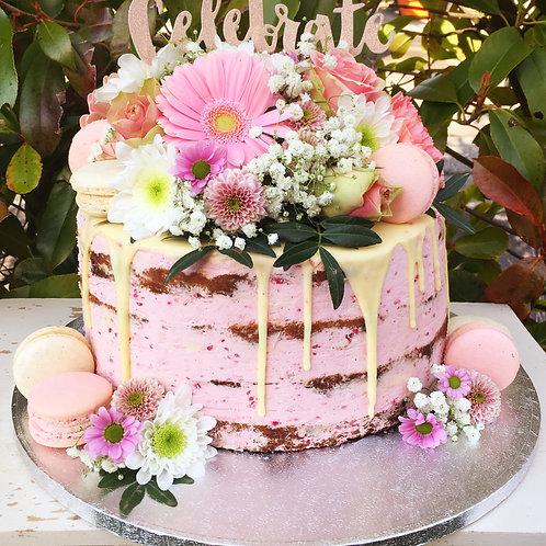 Flower Naked Cakes - Preis auf Anfrage
