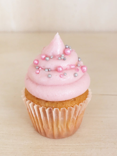 12 Himbeer Mini Cupcakes