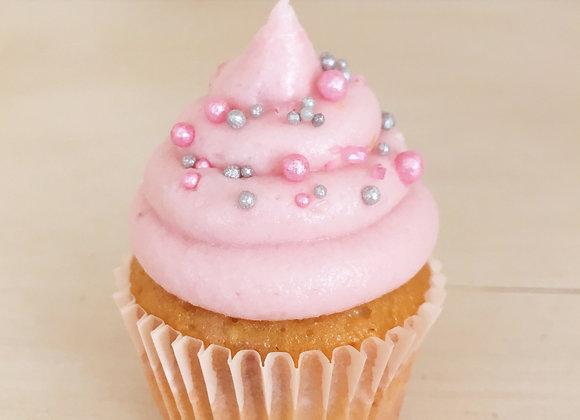 12 Himbeer Maxi Cupcakes