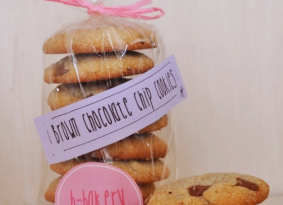 Brown Chocolate Chip Cookies 500 g