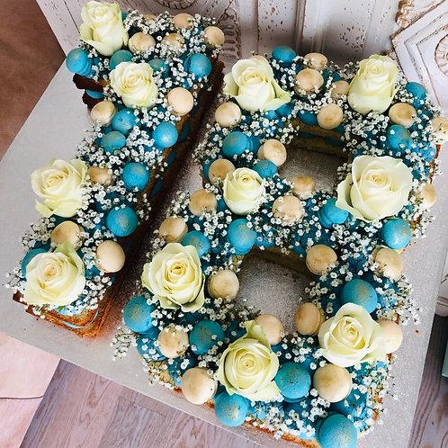 Number- und Lettercakes - Preis auf Anfrage