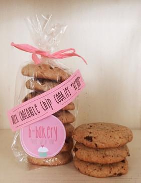 dark chocolate chip cookies *vegan*