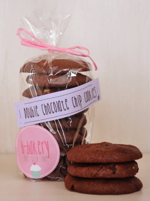 Double Chocolate Chip Cookies 500 g