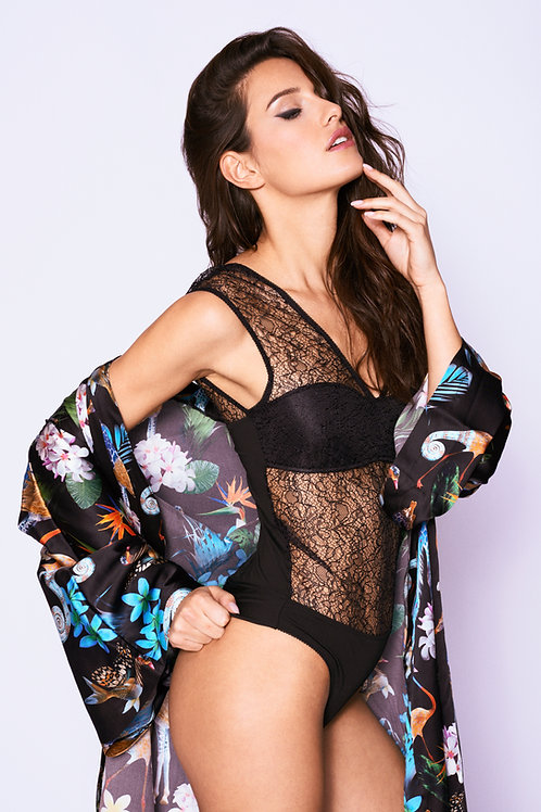 Flaminia One-Piece Lace Body Suit