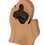 Thumbnail: Bottle Opener - Michigan Mitten Shape - Solid Wood