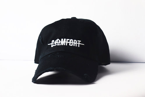"""COMFORT"" Distressed Hat"