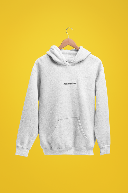 "Gray ""CITY"" Pullover Hoodie"
