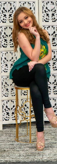 Hannah Tamez señorita Nuevo León categor