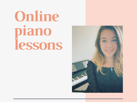 5 Things I've Learnt About Teaching Piano Online.