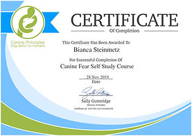 certificate-canine-fear-self-study-cours