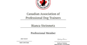 Canadian Association of Dog Professionals