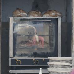 Los panes de Guille Taroco (Brecha, el bar de lxs amigxs) en Garage Gourmet, Ollas del mundo, junio de 2019.