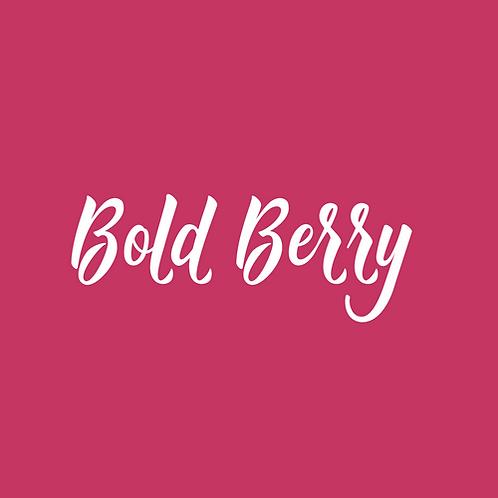 bold berry