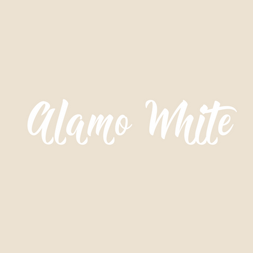 alamo white
