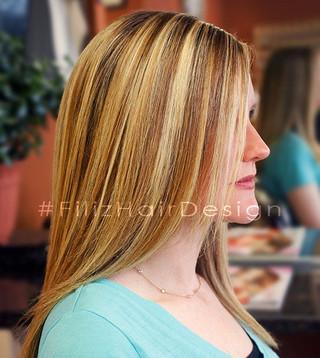 Highlights, Hair cut and Blowdry