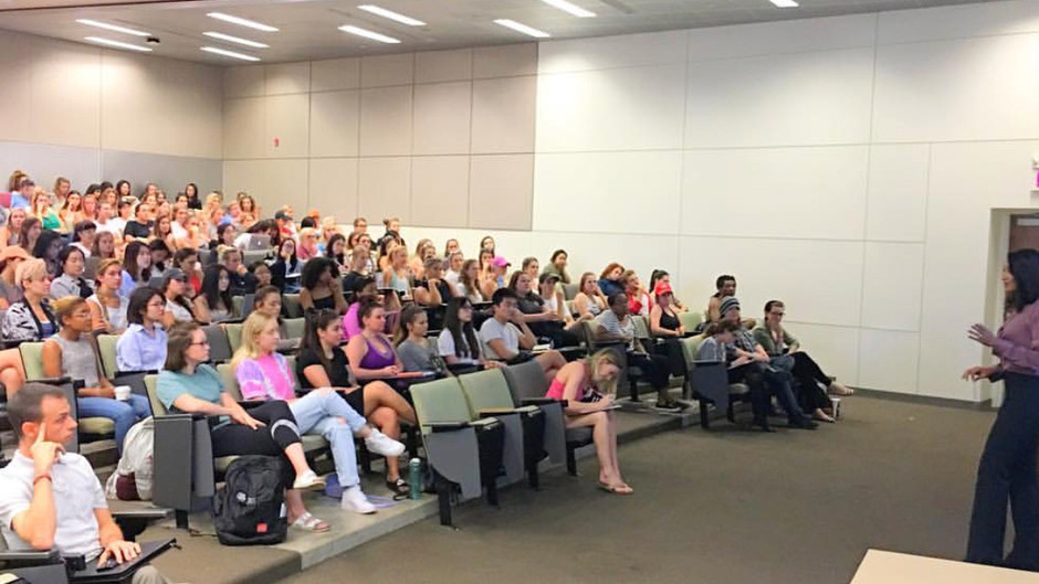 Lecturing at Ohio State University