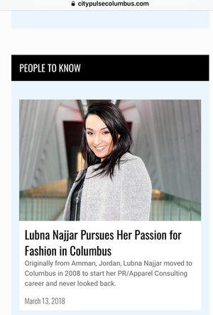 Passion for Business & Fashion, CityPulse Mag Feature