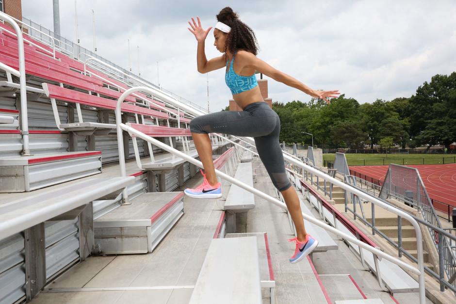 A Kick-Butt Bleacher Workout