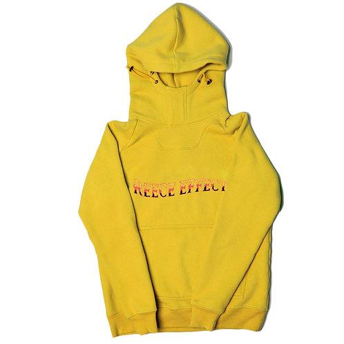 Holy Trinity Mustard Kangaroo Pocket Hoodie