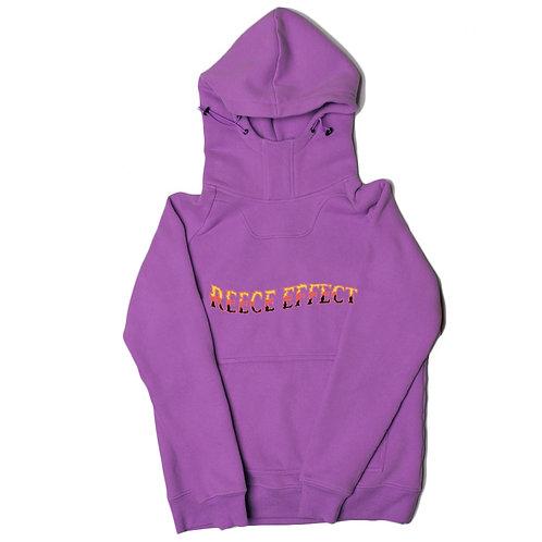Hone$t Purple Kangaroo Pocket Hoodie