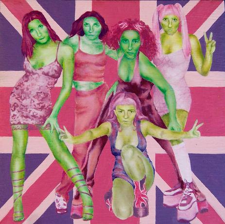 ROSS FLEMING | Spice Boyz, oil on board
