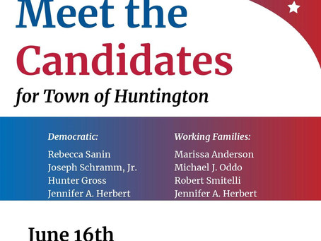 Meet Joe at the 'League of Women Voters' virtual event on June 16th