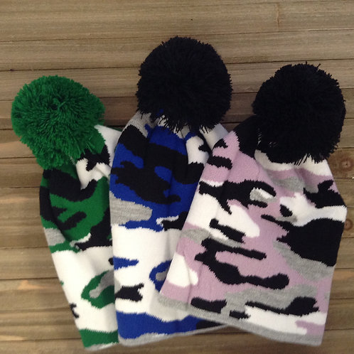 Synthetic Camouflage Beanie