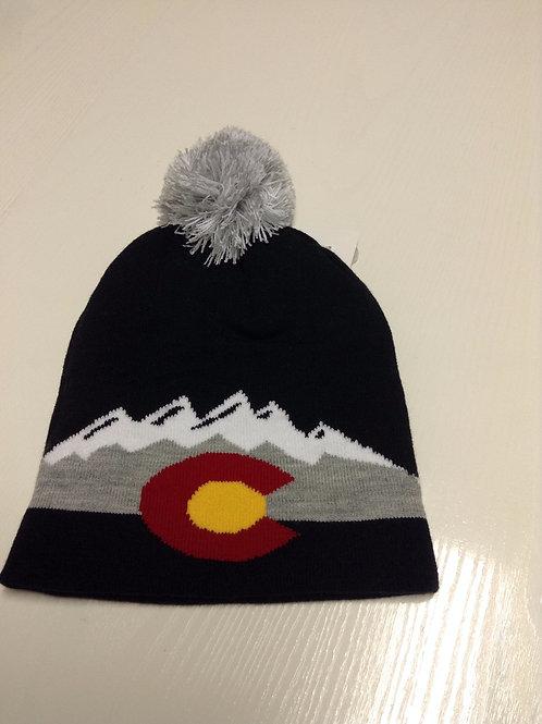 Colorado Snowcap Mountain Beanie