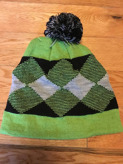 Alpaca Diamond Wrap Beanie