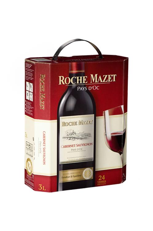 Vin rouge Cabernet  ROCHE MAZET 3L