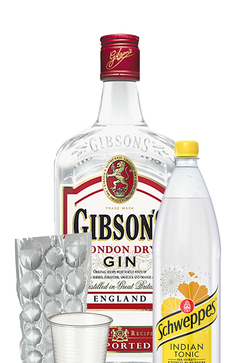 FORMULE GIN GIBSON'S 70CL