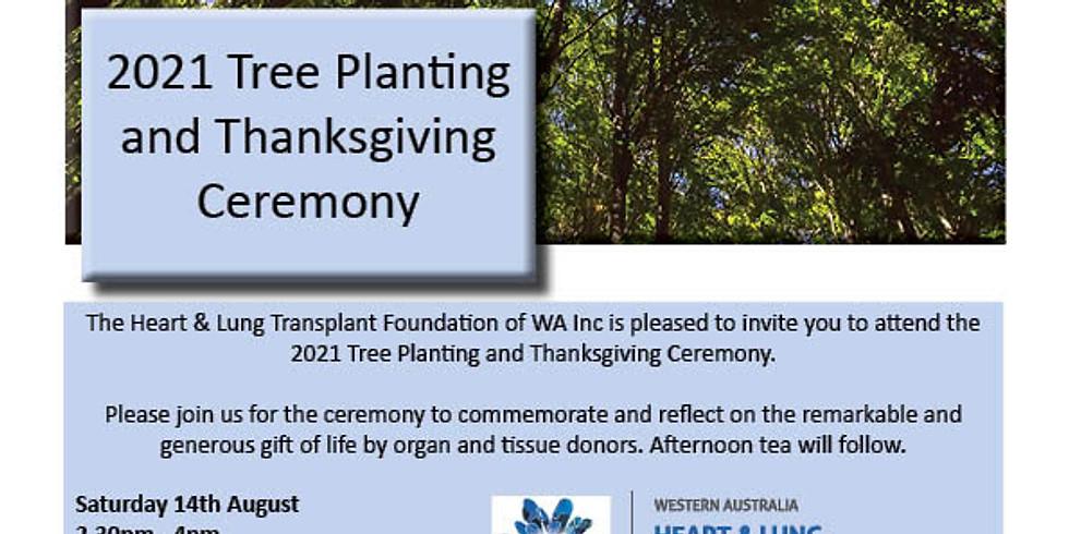 Tree Planting & Thanksgiving Ceremony 2021