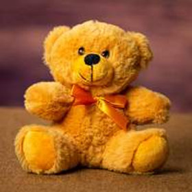6 inch Teddy Bear in Old Gold