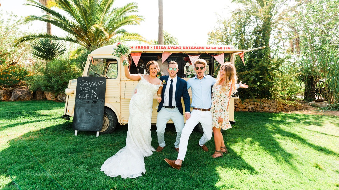 Ibiza wedding celebration