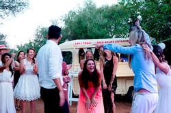Ibiza fab Food Truck wedding