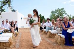 Authentic Ibiza island wedding