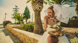 ibiza wedding with perfect catering