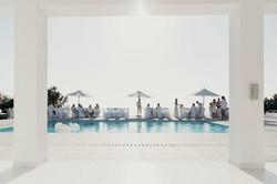 perfect white wedding in ibiza