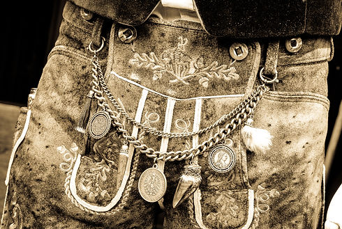 close-up of a typical bavarian _krachled