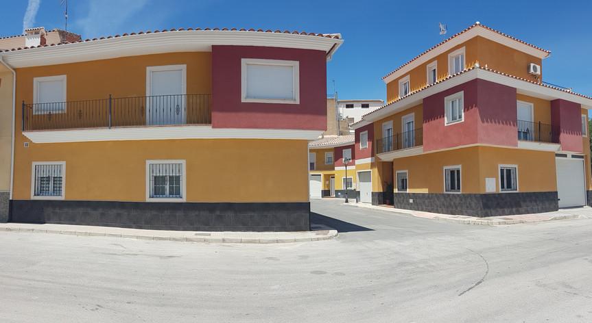Conjunto residencial de viviendas