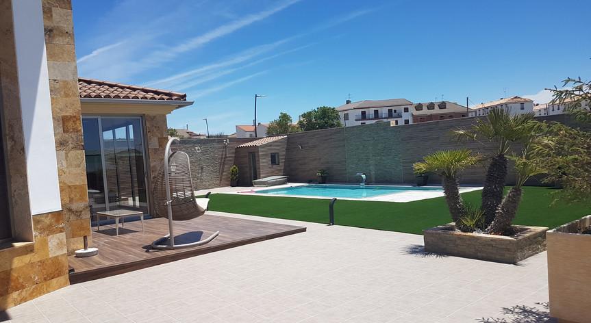 Exteriores piscina unifamiliar