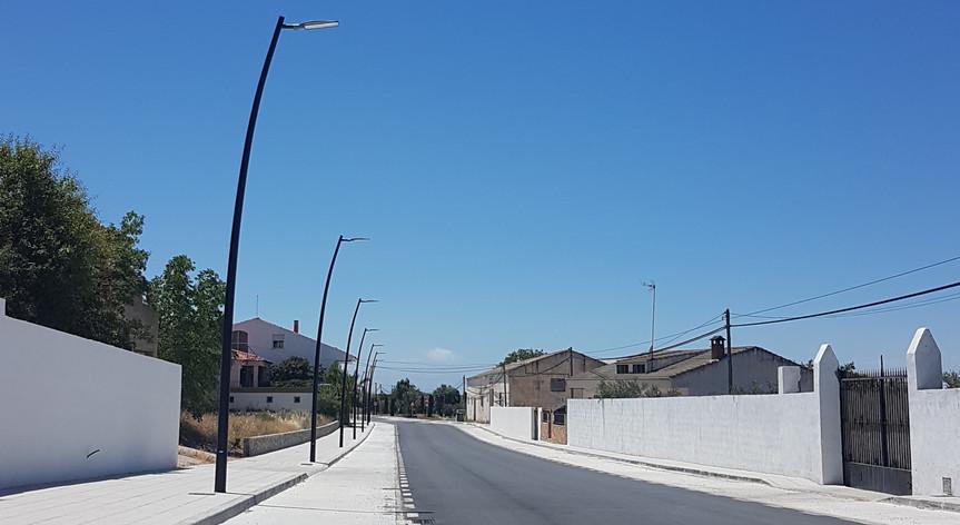 Reurbanización acceso Avenida Fontanar, Pozo Alcón, Jaén